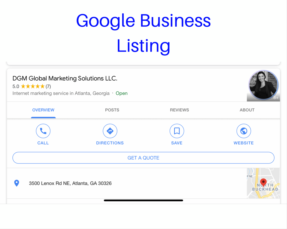 Google My business helps voice search optimization and boost local search results - DGM Global Marketing