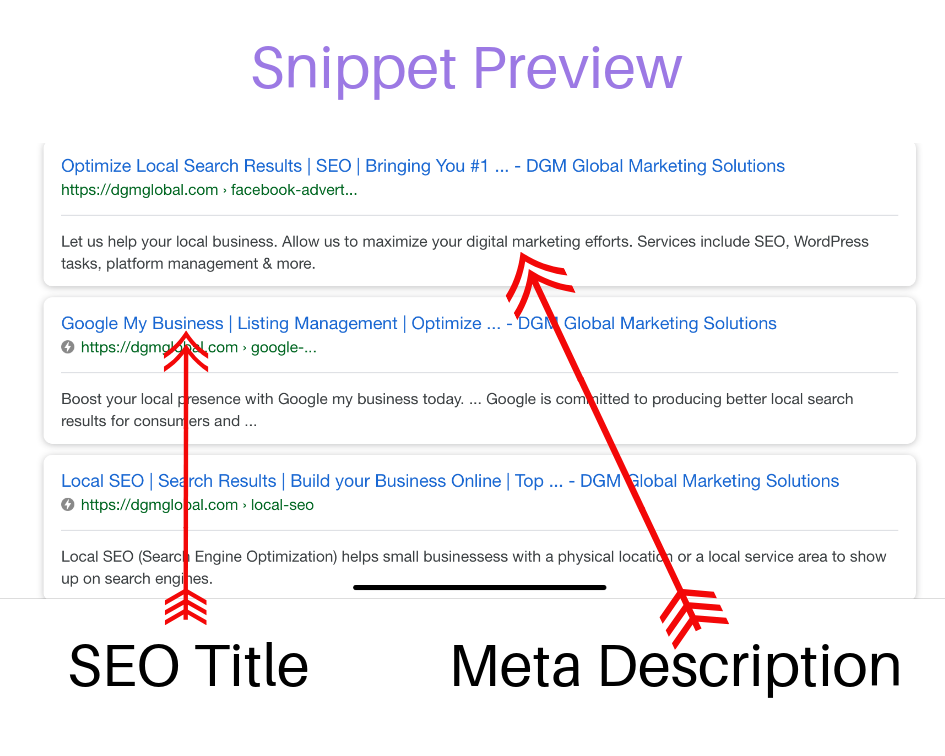 Featured Snippets and Voice Search- DGM Global Marketing Solutions will help your business rank high for SEO
